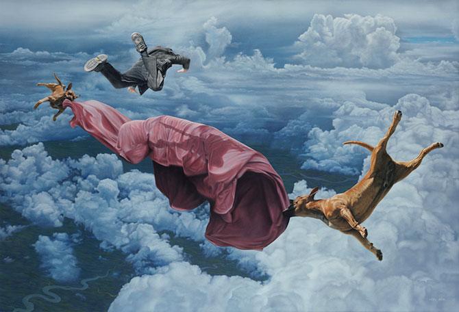 Picturi suprarealiste spectaculoase de Joel Rea - Poza 7