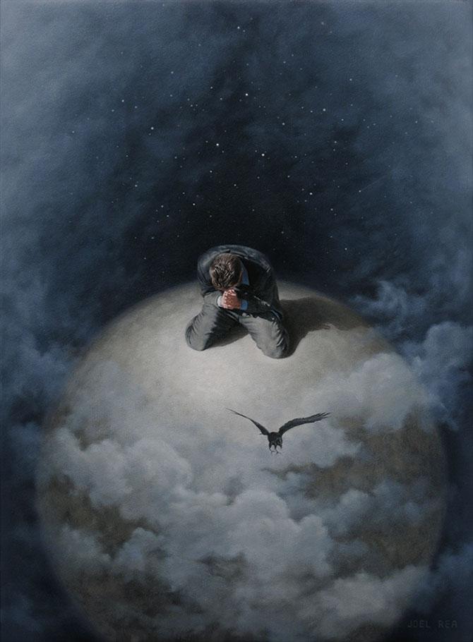 Picturi suprarealiste spectaculoase de Joel Rea - Poza 8