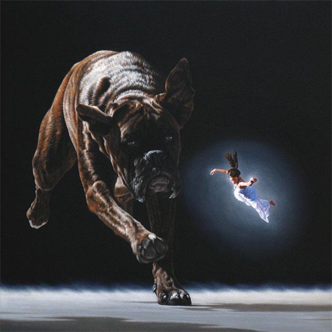 Picturi suprarealiste spectaculoase de Joel Rea - Poza 9