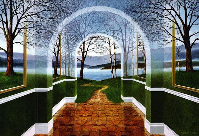 Intre vis si viata: Picturi suprarealiste de Neil Simone - Poza 3