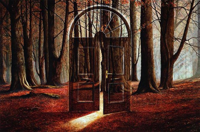 Intre vis si viata: Picturi suprarealiste de Neil Simone - Poza 4