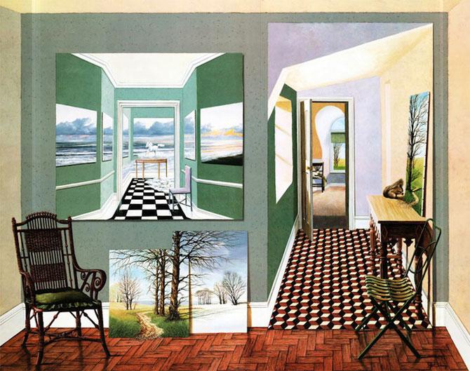 Intre vis si viata: Picturi suprarealiste de Neil Simone - Poza 5