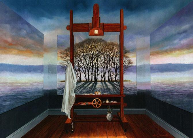 Intre vis si viata: Picturi suprarealiste de Neil Simone - Poza 6