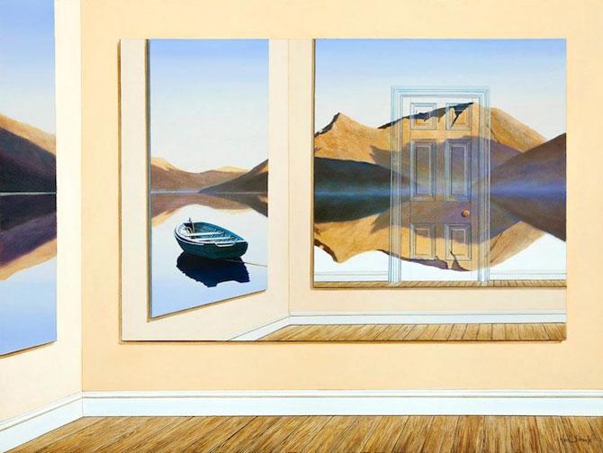 Intre vis si viata: Picturi suprarealiste de Neil Simone - Poza 7