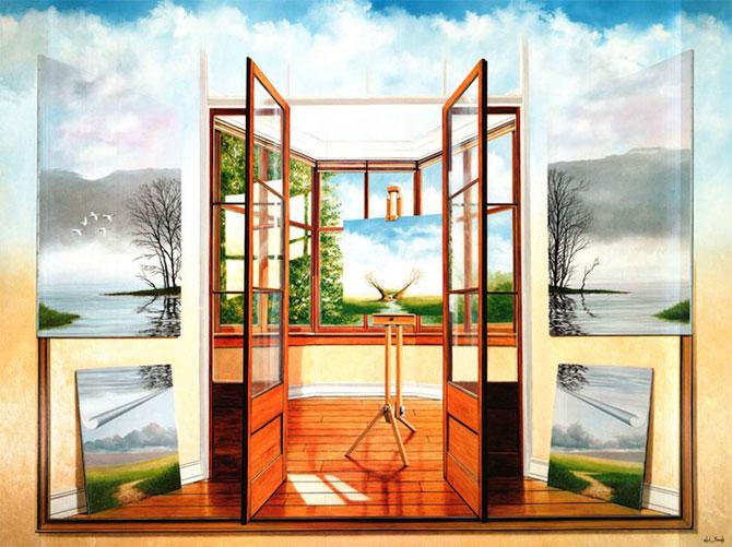 Intre vis si viata: Picturi suprarealiste de Neil Simone - Poza 8