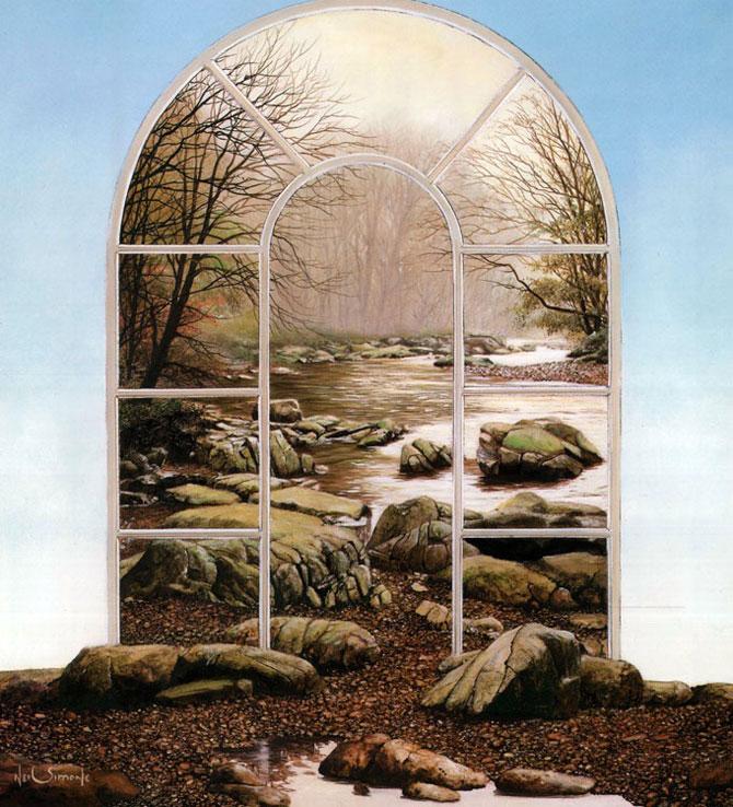 Intre vis si viata: Picturi suprarealiste de Neil Simone - Poza 9