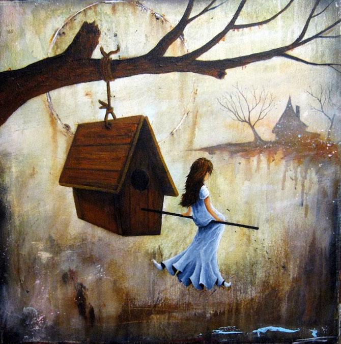 Povesti pictate pentru copii si adulti de Robert Dowling Jr. - Poza 2