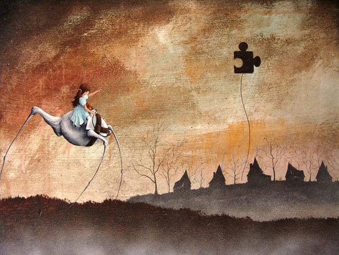 Povesti pictate pentru copii si adulti de Robert Dowling Jr. - Poza 5