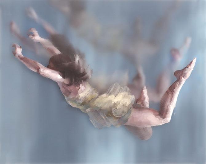 Pictura in straturi transparente, de Michelle Jader - Poza 1