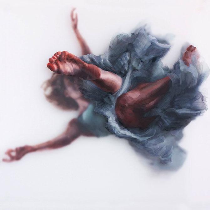Pictura in straturi transparente, de Michelle Jader - Poza 4