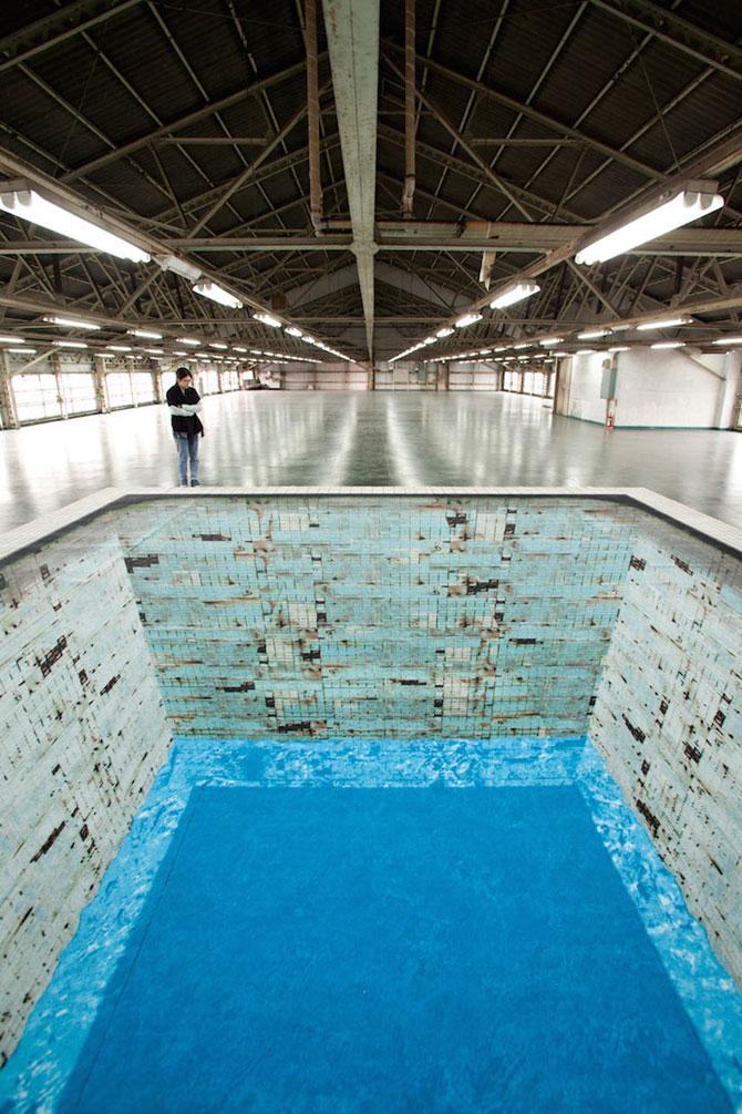 Iluzia optica a unei piscine, de Jeroen Bisscheroux - Poza 2
