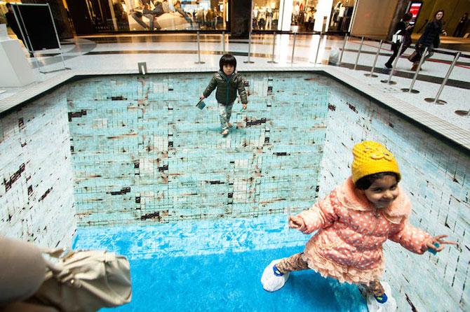 Iluzia optica a unei piscine, de Jeroen Bisscheroux - Poza 3