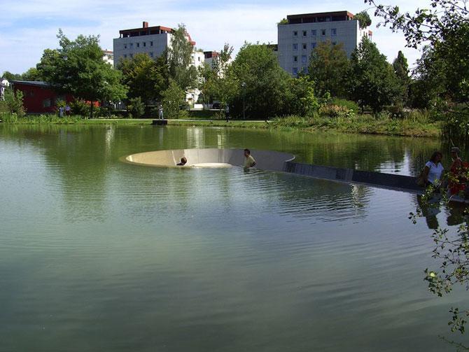 Sub lac in parc, in Austria - Poza 1