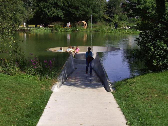 Sub lac in parc, in Austria - Poza 3