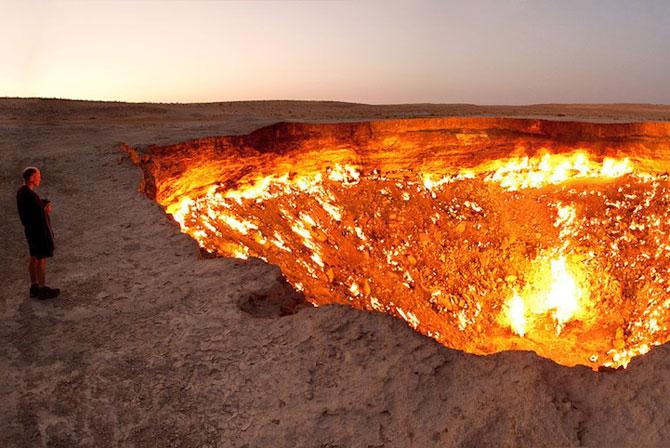 Poarta iadului: Focul viu din Turkmenistan - Poza 1