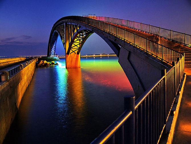 Pod luminos curcubeu Taiwan