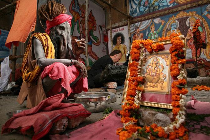 Portrete din India, de 10 rupii bucata - Poza 10