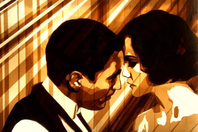 Arta cu Scotch si felinare, de Max Zorn - Poza 6
