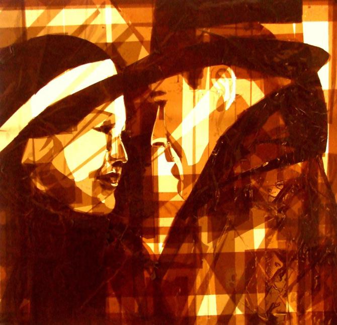 Arta cu Scotch si felinare, de Max Zorn - Poza 11