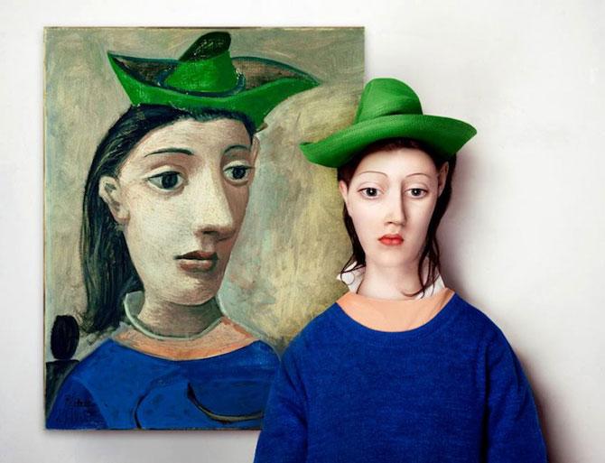 Modele reale pentru portrete abstracte, de Flora Borsi - Poza 1