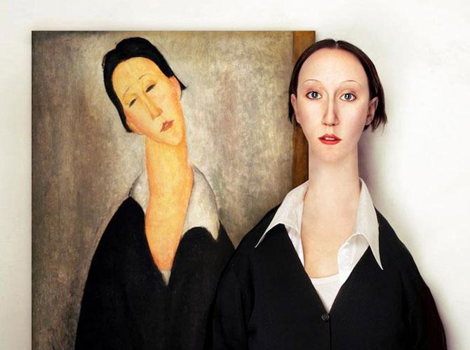 Modele reale pentru portrete abstracte, de Flora Borsi - Poza 2