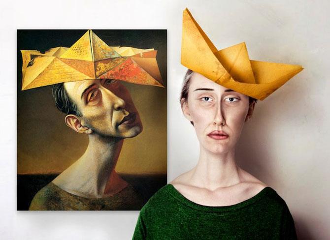 Modele reale pentru portrete abstracte, de Flora Borsi - Poza 3