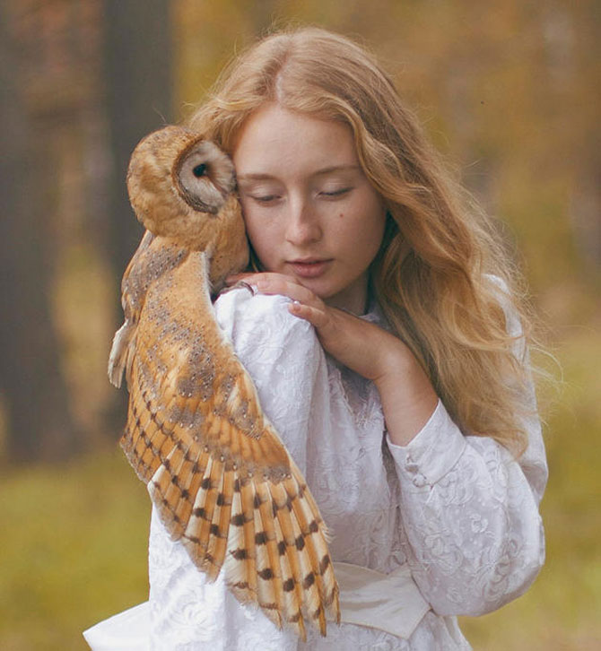 Portrete fantastice cu animale adevarate - Poza 3