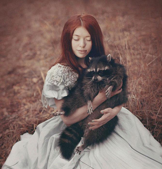 Portrete fantastice cu animale adevarate - Poza 6