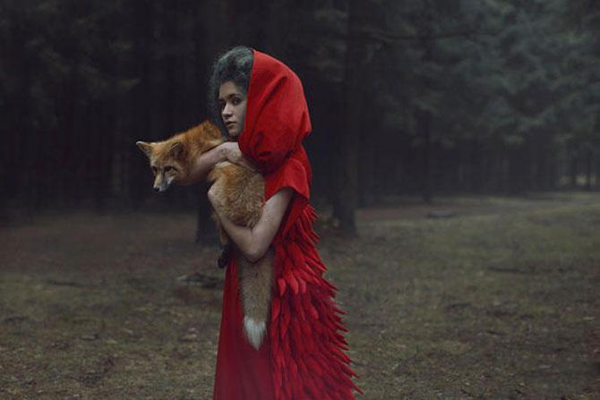 Portrete fantastice cu animale adevarate - Poza 7