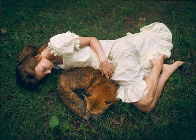 Portrete fantastice cu animale adevarate - Poza 9