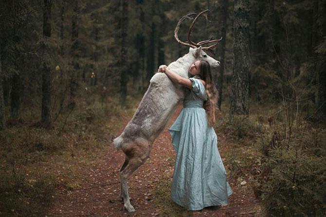 Portrete fantastice cu animale adevarate - Poza 11