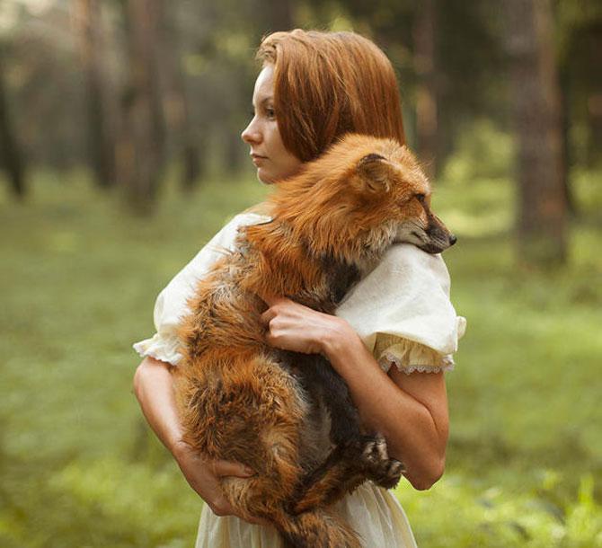 Portrete fantastice cu animale adevarate - Poza 15