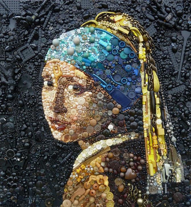 Opere celebre din obiecte banale, de Jane Perkins - Poza 1