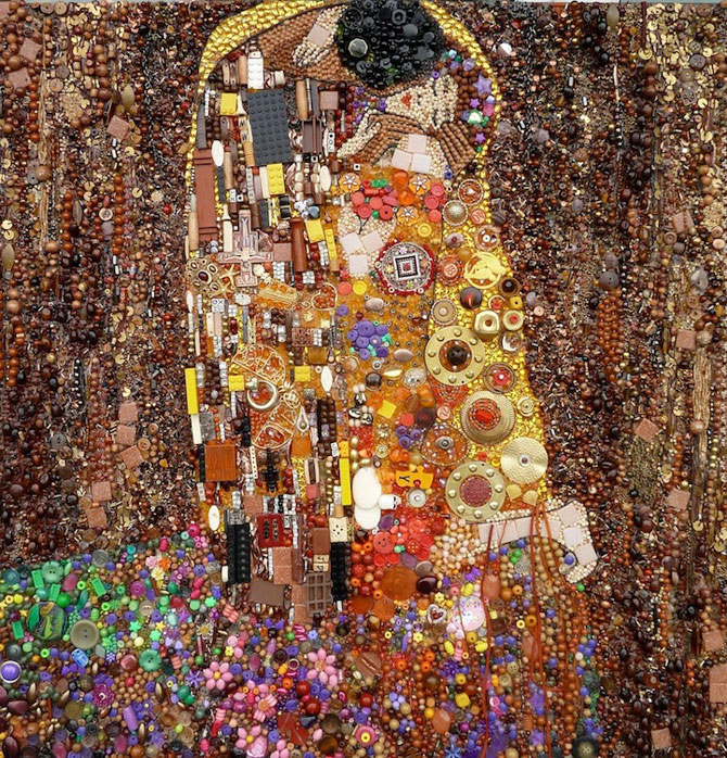 Opere celebre din obiecte banale, de Jane Perkins - Poza 7