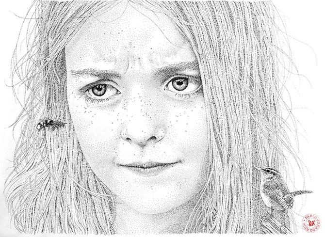 Portrete din mii de puncte, de Pablo Jurado Ruiz - Poza 2