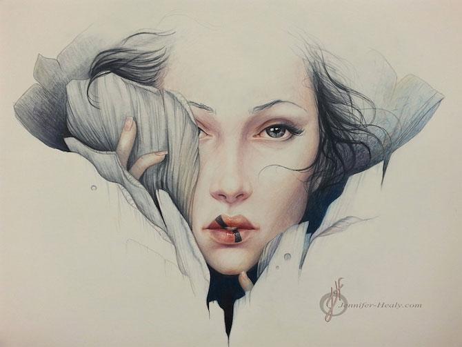 Superbe portrete ilustrate, de Jennifer Healy - Poza 4