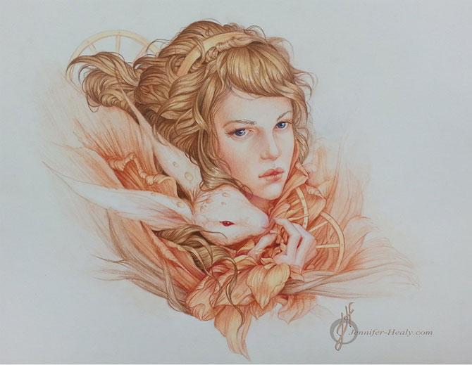 Superbe portrete ilustrate, de Jennifer Healy - Poza 5