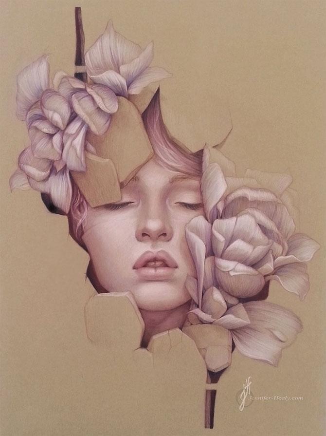 Superbe portrete ilustrate, de Jennifer Healy - Poza 6