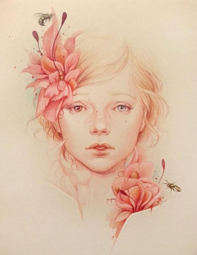 Superbe portrete ilustrate, de Jennifer Healy - Poza 9