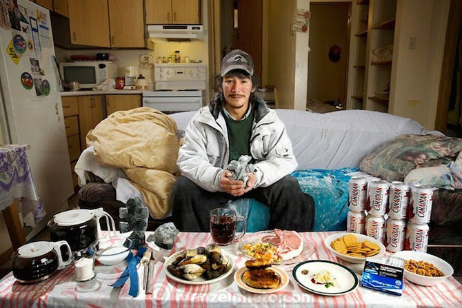 In jurul lumii in 80 de diete cu Peter Menzel - Poza 5
