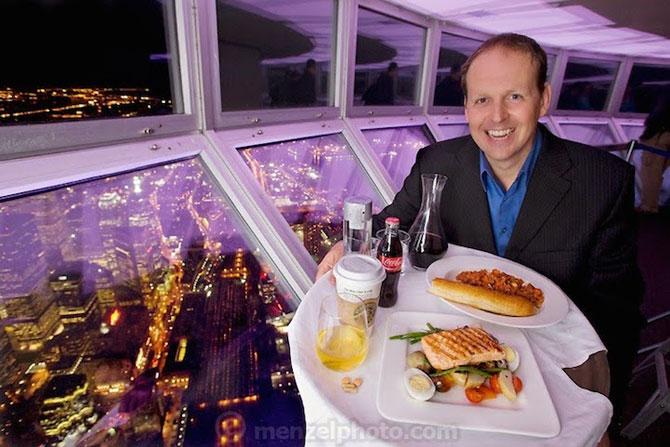 In jurul lumii, in 80 de diete cu Peter Menzel