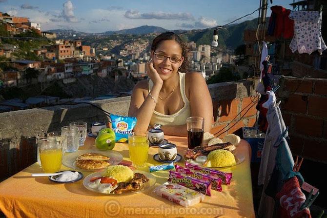 In jurul lumii in 80 de diete cu Peter Menzel - Poza 9