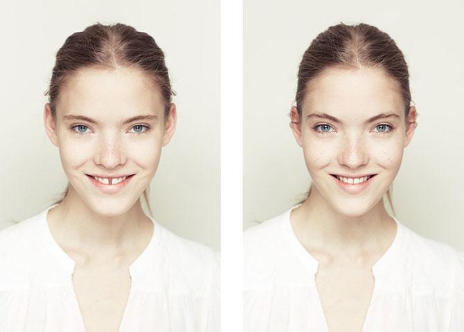 Simetrie si frumusete: Portrete oglindite de Alex John Beck - Poza 1