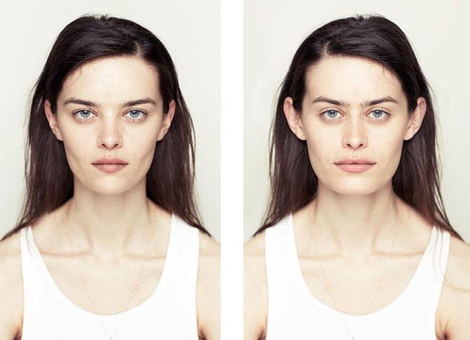 Simetrie si frumusete: Portrete oglindite de Alex John Beck - Poza 2