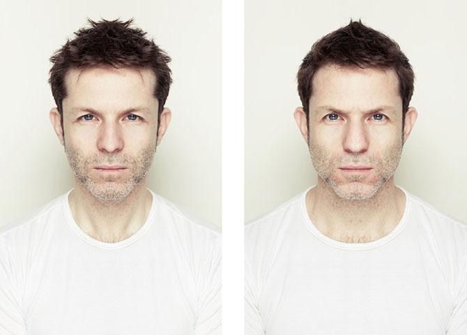 Simetrie si frumusete: Portrete oglindite de Alex John Beck - Poza 3