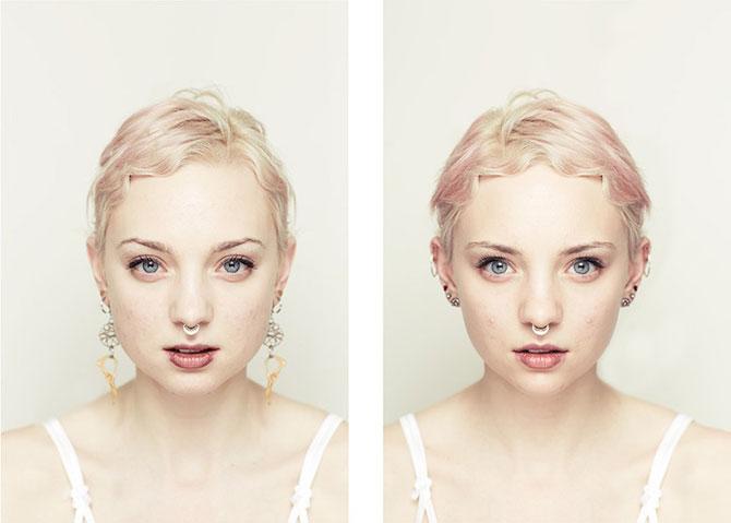 Simetrie si frumusete: Portrete oglindite de Alex John Beck - Poza 4