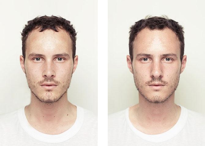 Simetrie si frumusete: Portrete oglindite de Alex John Beck - Poza 5