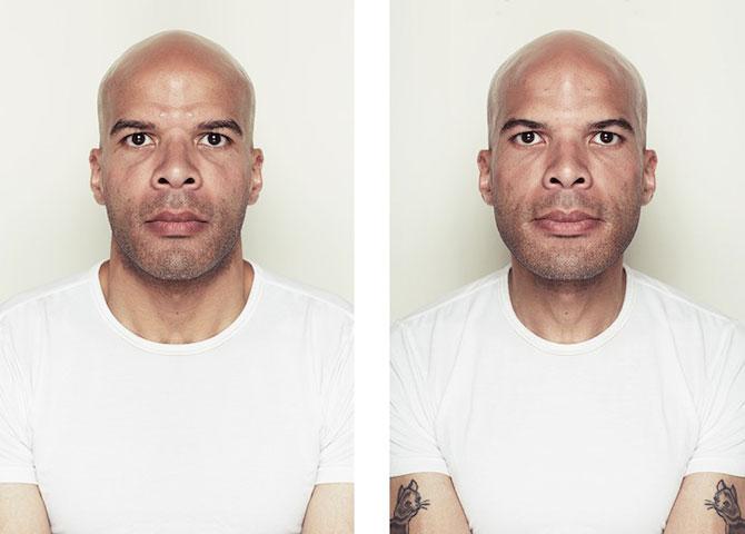 Simetrie si frumusete: Portrete oglindite de Alex John Beck - Poza 6