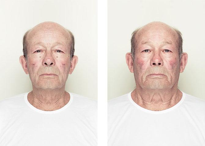 Simetrie si frumusete: Portrete oglindite de Alex John Beck - Poza 8