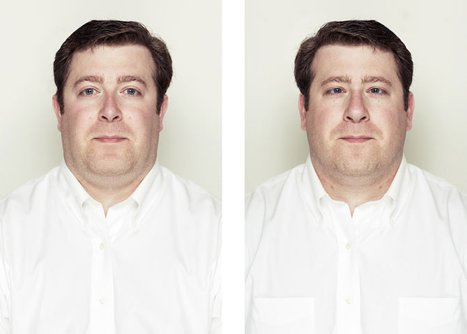 Simetrie si frumusete: Portrete oglindite de Alex John Beck - Poza 9